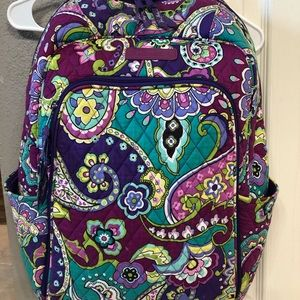 Vera Bradley Bookbag Backpack